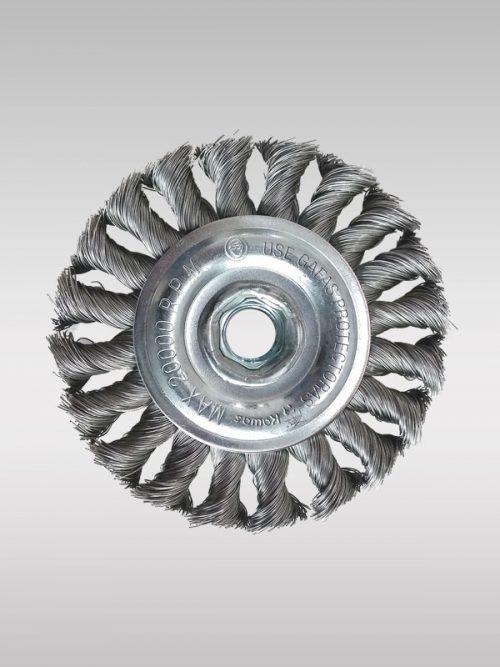 Cepillo circular de alambre KW100420