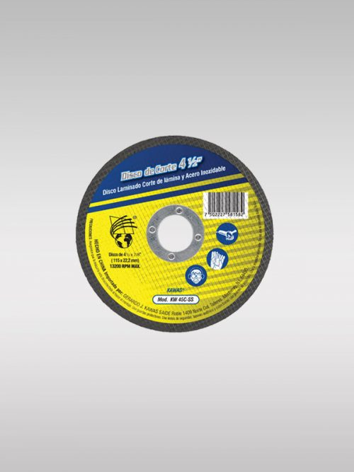 Disco de corte KW45C-SS